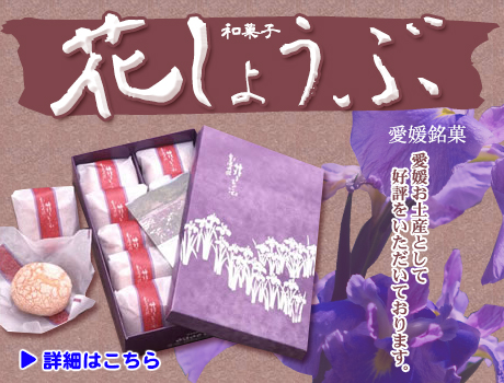 愛媛和菓子スイーツ販売(最中、豆大福、まんじゅう)|御菓子処うちむら